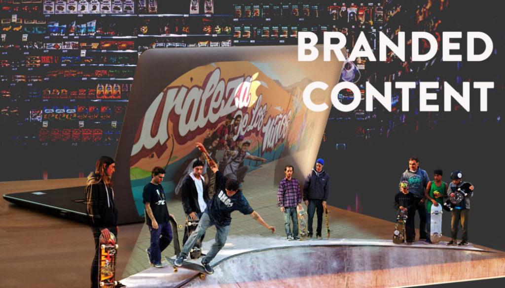 carátula de post sobre Branded Content